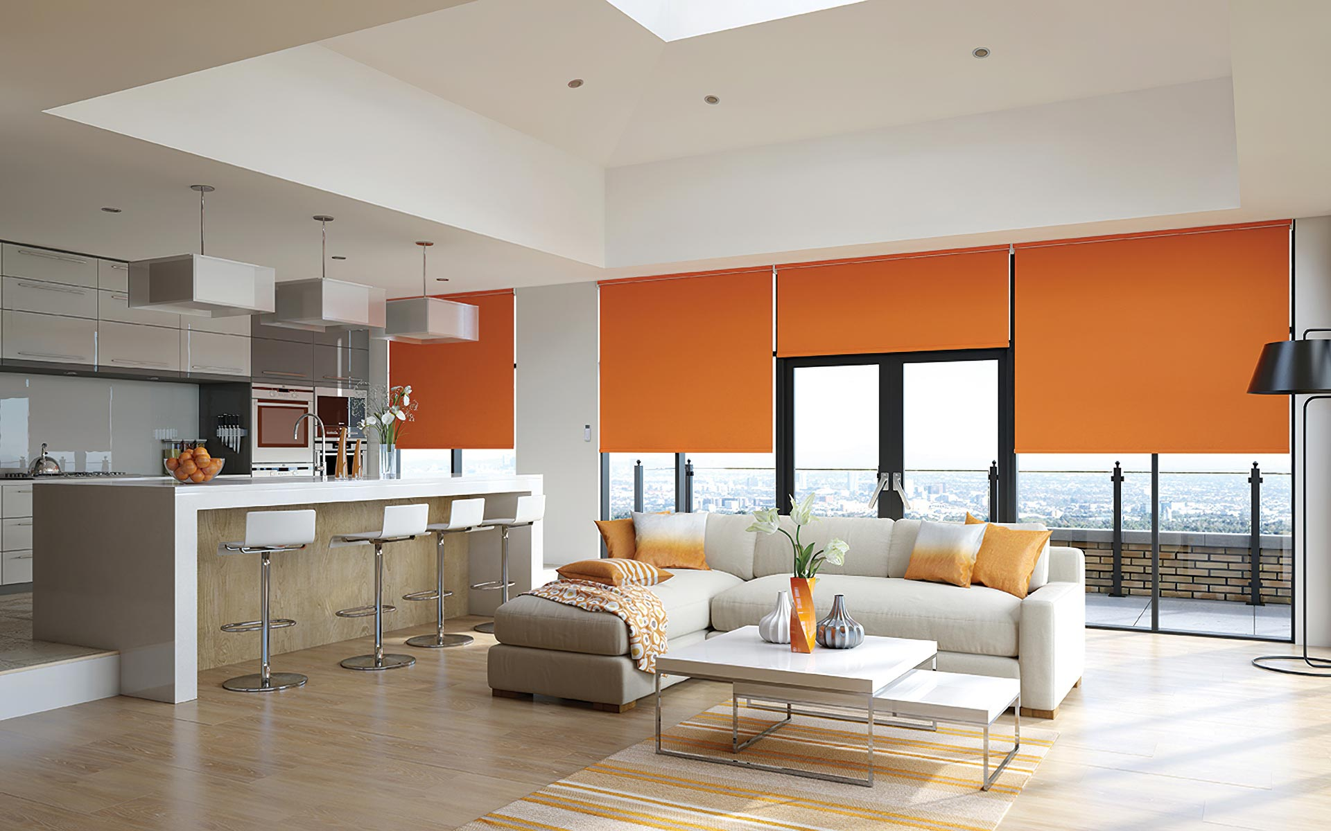 Motorised Blinds and Curtains for your home